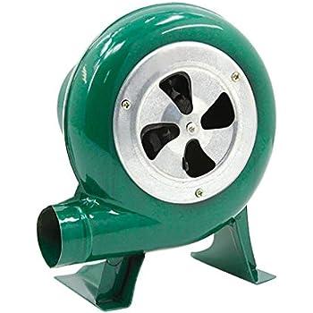 Barbecue Air Blower Pump Fan per La Combustione del Barbecue Ventilatore Manuale Centrifugo Dellingranaggio del Ferro della Forgia Dellaeratore Elettrico Ventilatore per Uso Domestico 40w