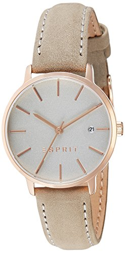 Esprit Women's Analogue Quartz Watch with Leather Strap – ES109332003