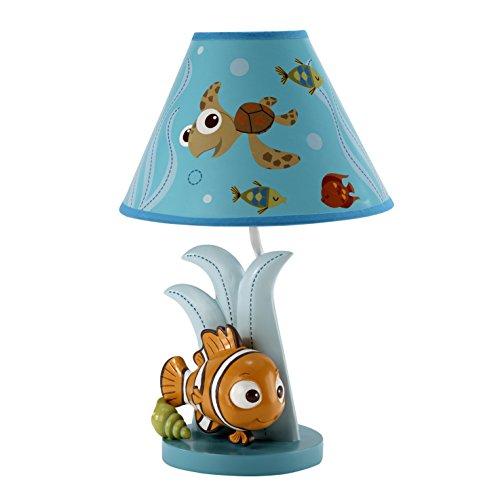 Disney Findet Nemo Lampe Sockel und Schirm, blau