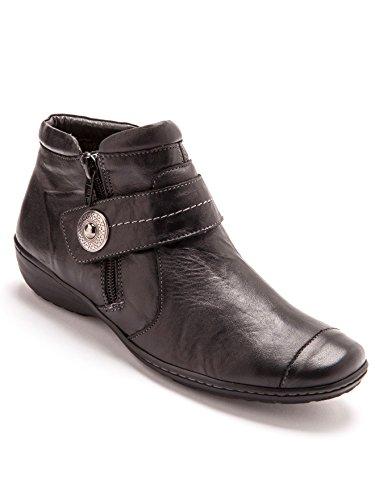 Pediconfort - Boots à aérosemelle® Largeur Confort - Noir - 40