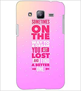 PrintDhaba Quote D-4408 Back Case Cover for SAMSUNG GALAXY J2 (Multi-Coloured)