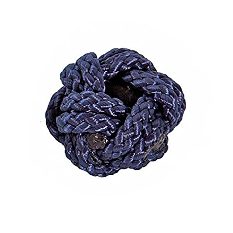 Modas Makrameeknoten, Farbe:blau