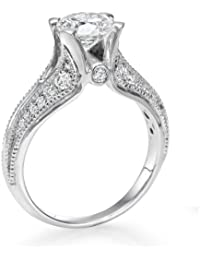 Solitaer Diamantring - Round mit Zertifikat 1.85 Karat, 18 Karat (750) Gelbgold