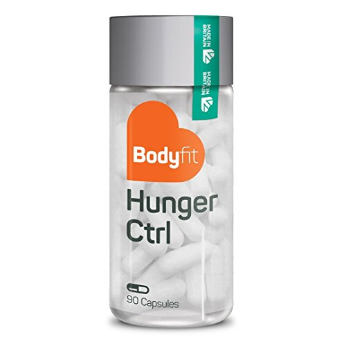 *Gesund abnehmen mit Bodyfit Hunger Ctrl Appetitzügler – 90 vegane Kapseln I natürliches Nahrungsergänzungsmittel zum Abnehmen Appetithemmer Sättigungskapseln Diät Kapseln Abnehmhilfe*