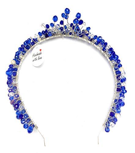 By seller Serre Tete diadème en Cristal Swarovski Perle Accessoires des Cheveux Mariage coronne Crown Headband