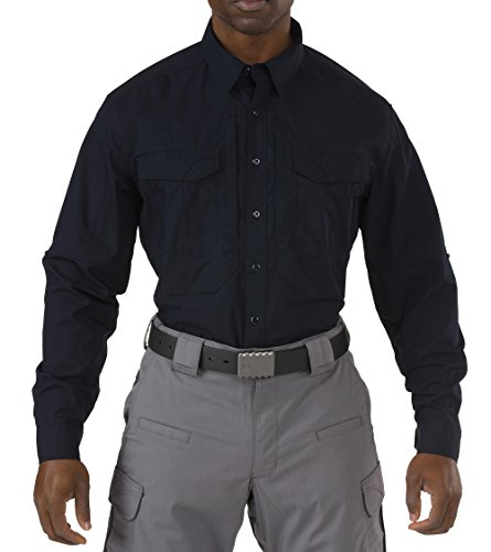 5.11 Tactical Series 511-72399 Chemise Homme, Marine Foncé, FR : 3XL (Taille Fabricant : XXXL)