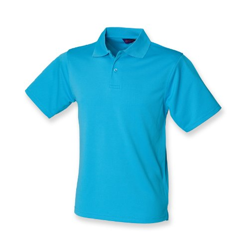 Henbury Coolplus ® Polo-Shirt Türkis