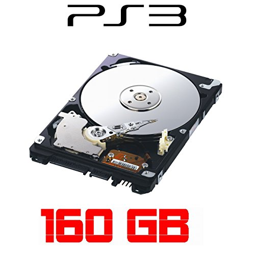 160 Gig Ps3 (i.norys 160GB Festplatte für SONY Playstation 3, ALLE Baureihen inkl. PS3 SLIM)