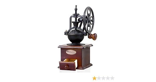 Classica Antico Ghisa MANUALE MANOVELLA Chicco di caffè Mill Grinder Set