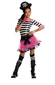 Rubies Costume Company 883944- Disfraz Black Rose 5-7 años