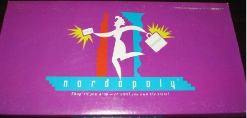 Nordopoly Nordstrom Shop 'til you drop-Gold until you own The Store -