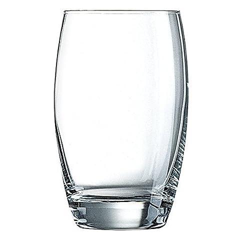 ARCOROC Salto Verres à Cocktail Highball, en verre, transparent, 17,5oz/500ml, Lot de 6