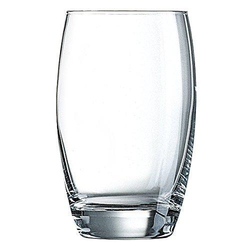 Arcoroc Salto Highball-Gläser, Glas, transparent, 17,5oz/500ml, 6Stück