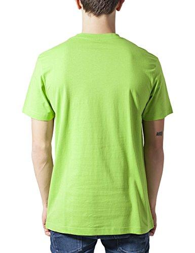 Urban Classics Herren T-Shirt Basic Tee Grün (Limegreen 00146)