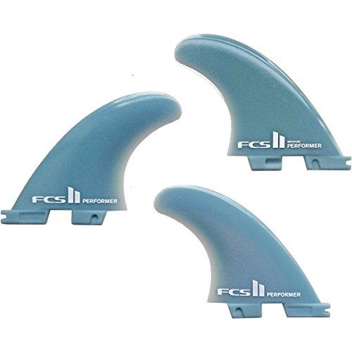 FCS II Surfboard Finnen Glass Flex Medium Performer