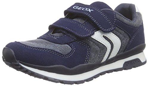 Geox J PAVEL C, Sneakers basses garçon Blau (NAVYC4064)