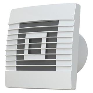 Quality Wall Kitchen Extractor Fan 150mm Standard with Gravity Shutters pRestige Ventilation Fan by Airroxy