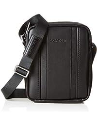 Calvin Klein - Essential 1 G Ipad Mini Reporter, cartera Hombre, Negro (Black), 6x17x21 cm (B x H T)