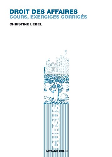 Droit des affaires par Christine Lebel