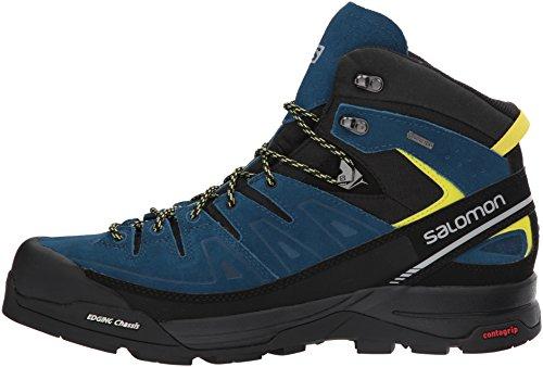 Salomon - Salomon X Alp Mid Ltr Gtx Shad/castor Gr Chaussures Black / Poseidon / Sulphur Spring