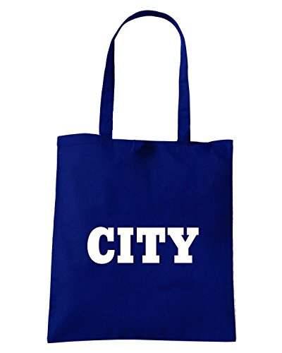 T-Shirtshock - Borsa Shopping WC0703 CITY Blu Navy