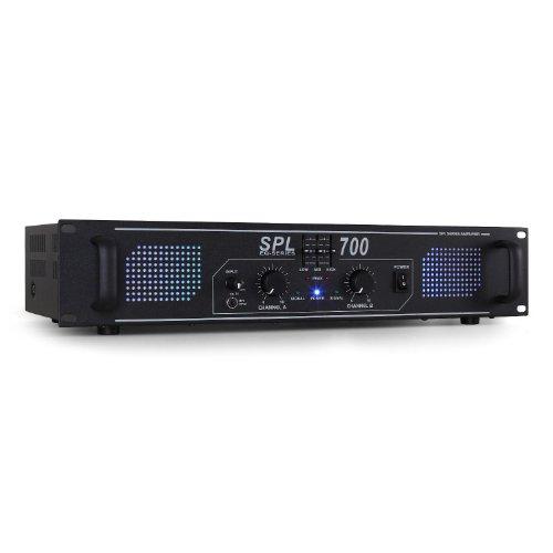 Skytec SPL700 Amplificador Sonido Profesional DJ 2000W