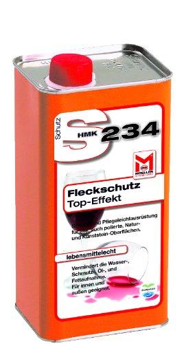 farbvertiefer naturstein HMK S234 Fleckschutz Imprägnierung Versiegelung Schutz 1,0 Liter