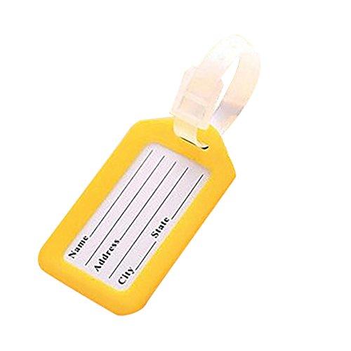 fanxing Neues, Fashion Travel Gepäck Tasche Tag Name Adresse ID Label Kunststoff Koffer Gepäck Tags