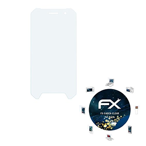 atFolix Schutzfolie kompatibel mit Cyrus CS 27 Panzerfolie, ultraklare & stoßdämpfende FX Folie (3X)