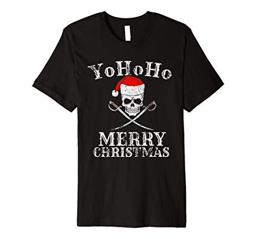 Yo Ho Ho Ho Frohe Weihnachten Frohe Weihnachten Piratenhemd