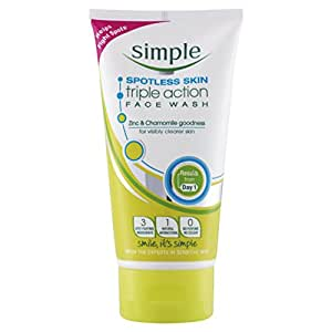 Simple Spotless Skin Triple Action Face Wash 150 ml