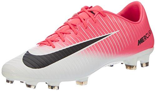 Nike Herren Mercurial Veloce III FG Fußballschuhe, Pink (Racer Pink/Black White), 45 EU (Boote Nike Männer)