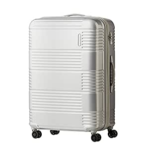Samsonite Sam Mazon Spinner Polycarbonate 79 cms Silver Hard Sided Suitcase (AE6 (0) 25 003)