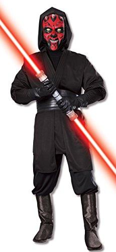 Darth Maul Deluxe Herrenkostüm aus Star Wars, (Maul Kostüme Star Wars Darth Deluxe Erwachsene)