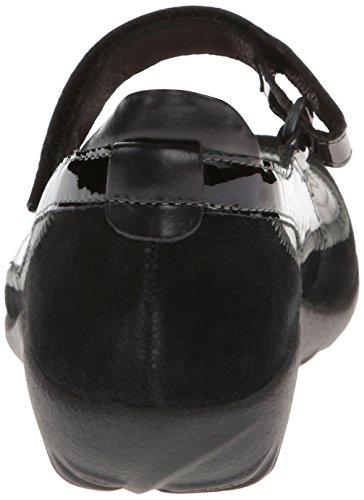 Naot Womens Kirei Leather Sandals Black