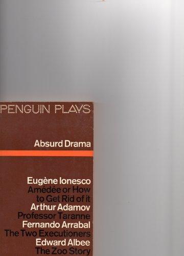 Ratna Ratko Read PDF Absurd Drama Amedee Professor