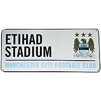 New Official Football Team Metal Street Sign (Man City FC)