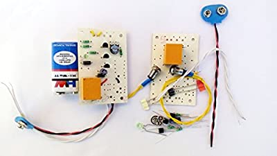 pke Light Switch - LDR Circuit project with Complete Assembling Kit Project