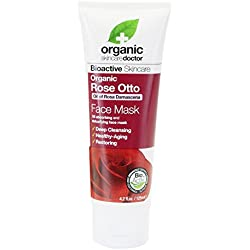 Dr. Organic Rose Otto Face Mask - Maschera Viso 125 ml