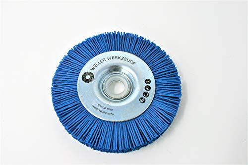 Nylonbürste mittel Bürste Reinigungsscheibe passend für Bosch GWS 10,8 12V 76 Zubehör Stahl Edelstahl Holz Würth Berner BTI