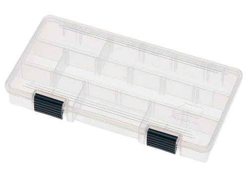 Plano 23500–00Größe Stowaway mit verstellbare Trennwände, Single Pack (Small Fishing Tackle Box)