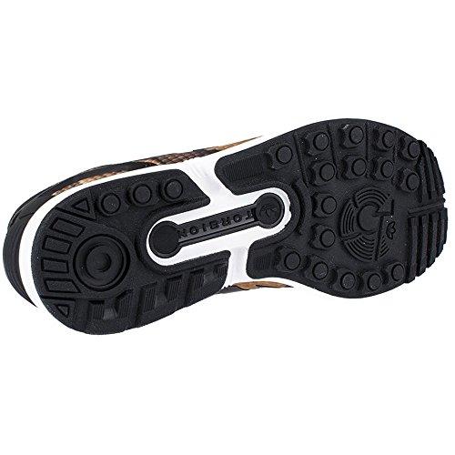 Adidas Scarpe donna ZX FLUX W AQ3912 Sneaker, nuovo nero-marrone