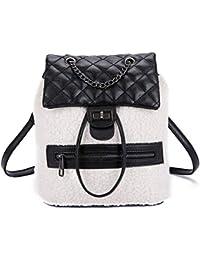 S.CHARMA Backpack 2019 New Small Fragrance Rhombic Purse Bag Fashion Wild  Multi-Purpose 1c93be0fee17b