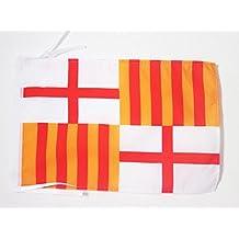 AZ FLAG Bandera de la Ciudad DE Barcelona 45x30cm - BANDERINA BARCELONESA  30 x 45 cm c677e4f8a1d