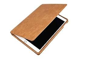 MACOON MC2527BRO Fiumicino Lederhülle für Apple iPad Air 2 cognac braun
