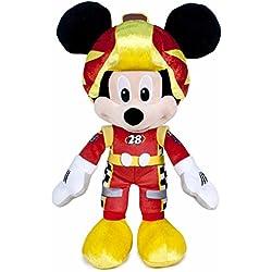 Mickey y Los Super Pilotos - Peluche Mickey, 35 cm (Famosa 760015277)