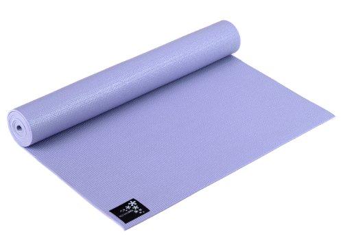 Yogistar Yogamatte Basic - rutschfest - Flieder