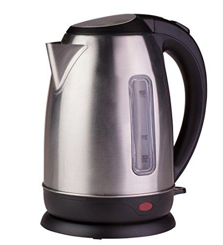Ardes ar1k40 bollitore elettrico in acciaio inox capacità 1,7 l arresto automatico senza fili base di rotazione a 360° per acqua tisane tè