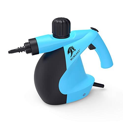 MLMLANT dampfreiniger Mehrzweck 350ml Handdruckdampfreiniger mit 11-teiligem Zubehör für Fleckenentfernung, Teppiche, Vorhänge, Bettwanzensteuerung, Autositze MEHRWEG