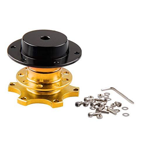 Tragbare Größe Universal Auto Schnellspanner Adapter Lenkradnabe Aluminiumlegierung Schnellspanner Snap Off Hub Adapter